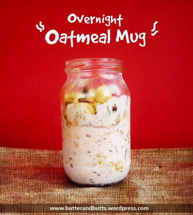 Overnight Oatmeal Mug